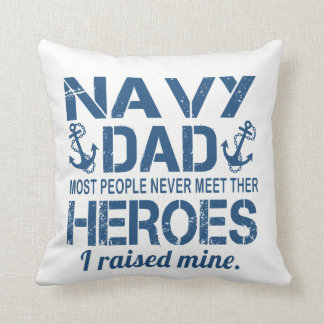 THE NAVY'S DAD CUSHION