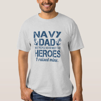 THE NAVY'S DAD TEES