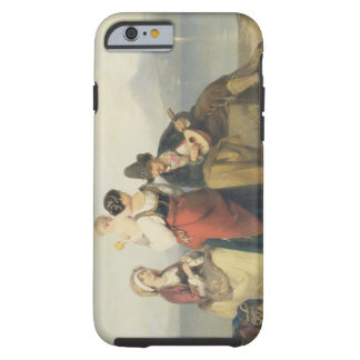 The Neapolitan Family, 1865 (oil on panel) Tough iPhone 6 Case