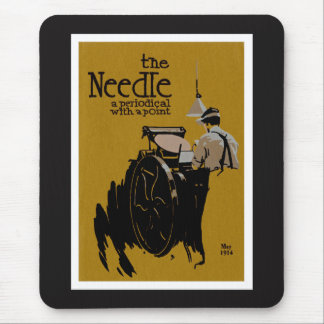 The Needle periodical illustration Mouse Mat