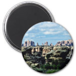 The Needles - Canyonlands National Park 6 Cm Round Magnet