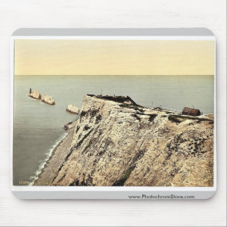 The Needles, II., Isle of Wight, England magnifice Mouse Pad