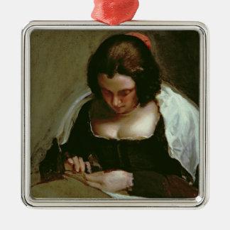 The Needlewoman, c.1640-50 Christmas Ornament