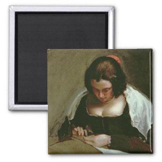 The Needlewoman, c.1640-50 Magnet