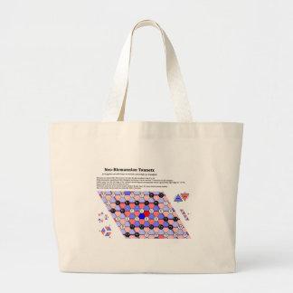 The Neo-Riemannian Theory Tonnetz Music Diagram Tote Bags