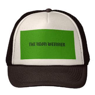 THE NEON WEINNER HATS