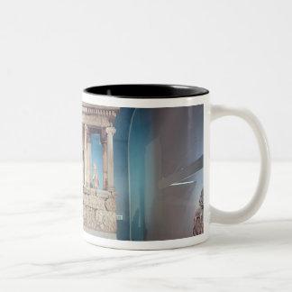 The Nereid Monument, Xanthos, c.390-380 BC Two-Tone Coffee Mug