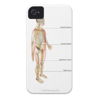 The Nervous System 3 Case-Mate iPhone 4 Case