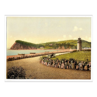 The Ness, Teignmouth, England magnificent Photochr Postcard