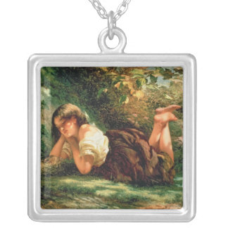 The Nest Square Pendant Necklace
