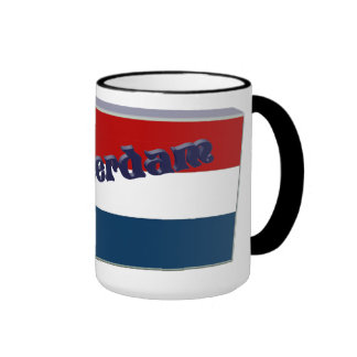 The Netherlands 3D+H Mugs