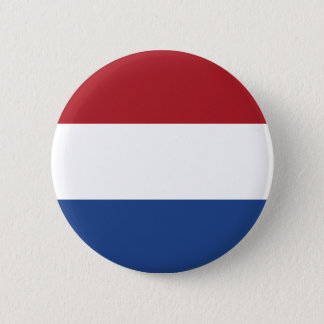 The Netherlands Flag 6 Cm Round Badge