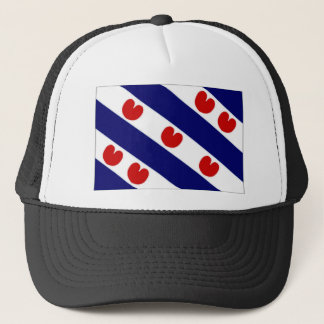 The Netherlands Friesland Flag Trucker Hat