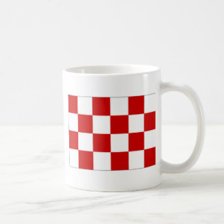 The Netherlands Noord-Brabant Flag Coffee Mug