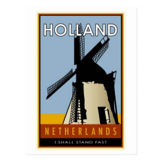 the Netherlands Postcard