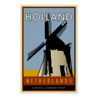 the Netherlands Poster