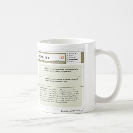 The Networker Archetype Classic White Mug