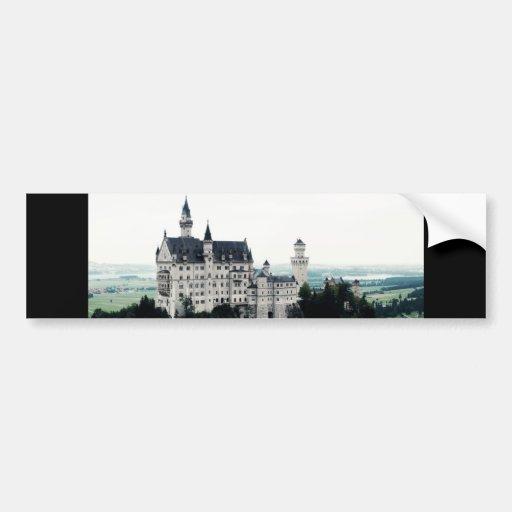 The Neuschwanstein Castle Bumper Stickers