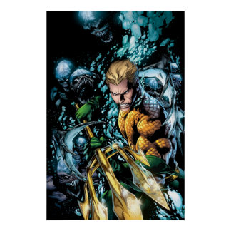 The New 52 - Aquaman #1 Poster