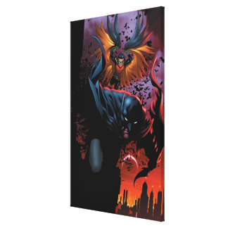 The New 52 - Batman and Robin #1 Canvas Print