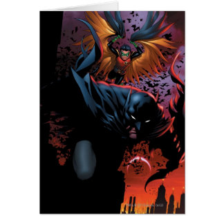 The New 52 - Batman and Robin #1 Greeting Card