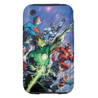 The New 52 Cover #1 3rd Print iPhone 3 Tough Cases