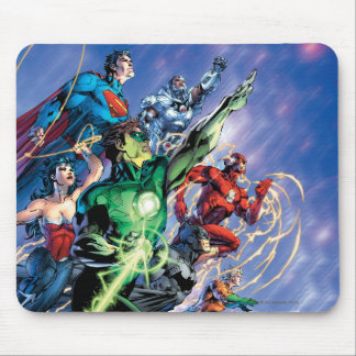 The New 52 Cover #1 3rd Print Mouse Mat