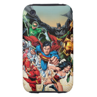 The New 52 Cover #1 4th Print Tough iPhone 3 Cases
