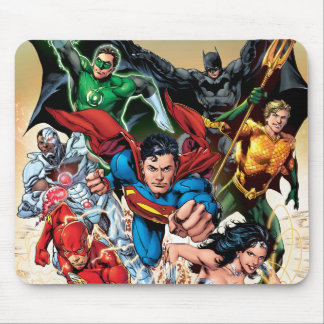 The New 52 Cover #1 4th Print Mouse Mat