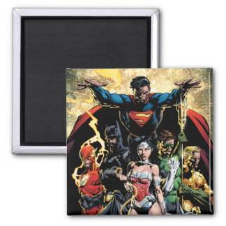 The New 52 Cover #1 Finch Variant Square Magnet
