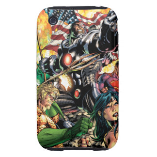 The New 52 Cover #5 Tough iPhone 3 Cover