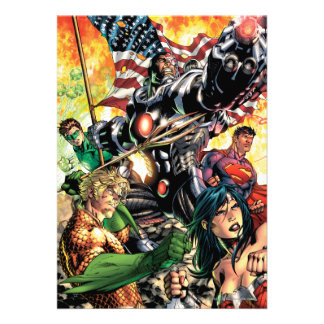 The New 52 Cover 5 Personalized Announcement