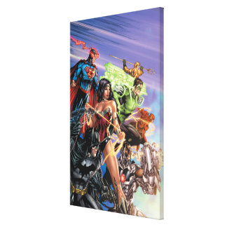 The New 52 Cover #5 Variant Canvas Print