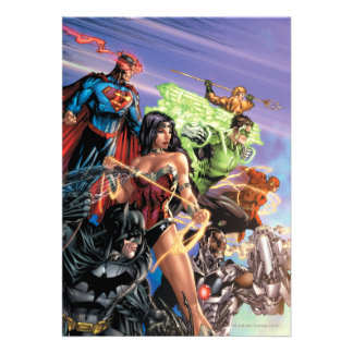 The New 52 Cover 5 Variant Personalized Invite