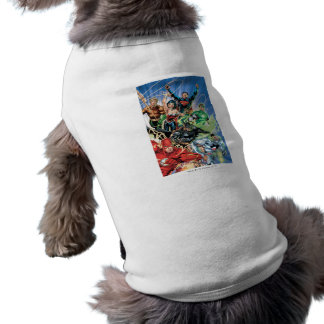 The New 52 - Justice League #1 Dog Tshirt