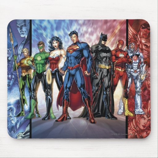 The New 52 - Justice League #1 Mouse Pads
