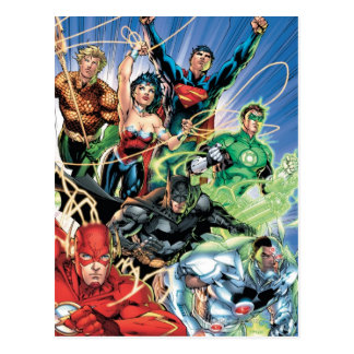 The New 52 - Justice League 1 Postcard