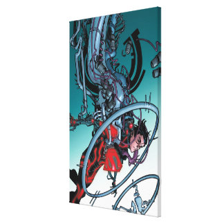 The New 52 - Superboy #1 Canvas Print