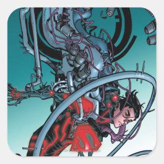 The New 52 - Superboy #1 Square Sticker