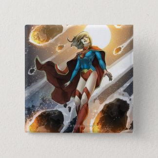 The New 52 - Supergirl #1 15 Cm Square Badge