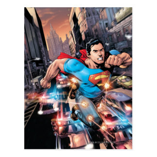 The New 52 - Superman 1 2 Post Card