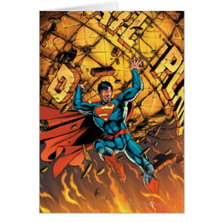 The New 52 - Superman #1 Greeting Card