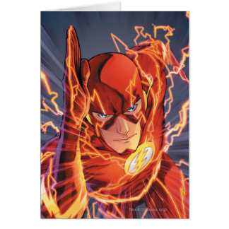 The New 52 - The Flash #1 Greeting Card