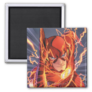 The New 52 - The Flash #1 Square Magnet