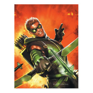 The New 52 - The Green Arrow 1 Postcards