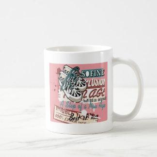 The New Age design Basic White Mug