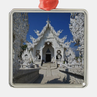 The new all white temple of Wat Rong Khun in Christmas Ornament