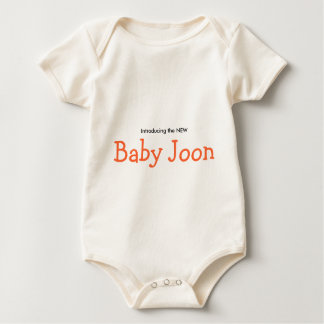 the New Baby Joon Baby Bodysuit