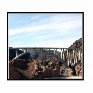 The New Bridge at Hoover Dam Photo Sculpture