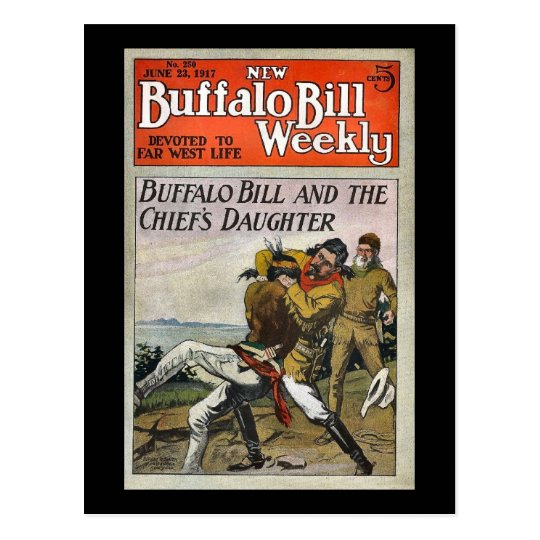 The New Buffalo Bill Weekly No. 250 1917 Postcard